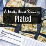 Plated Vegetarian Meal Kit Review