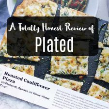 a totally honest review of plated