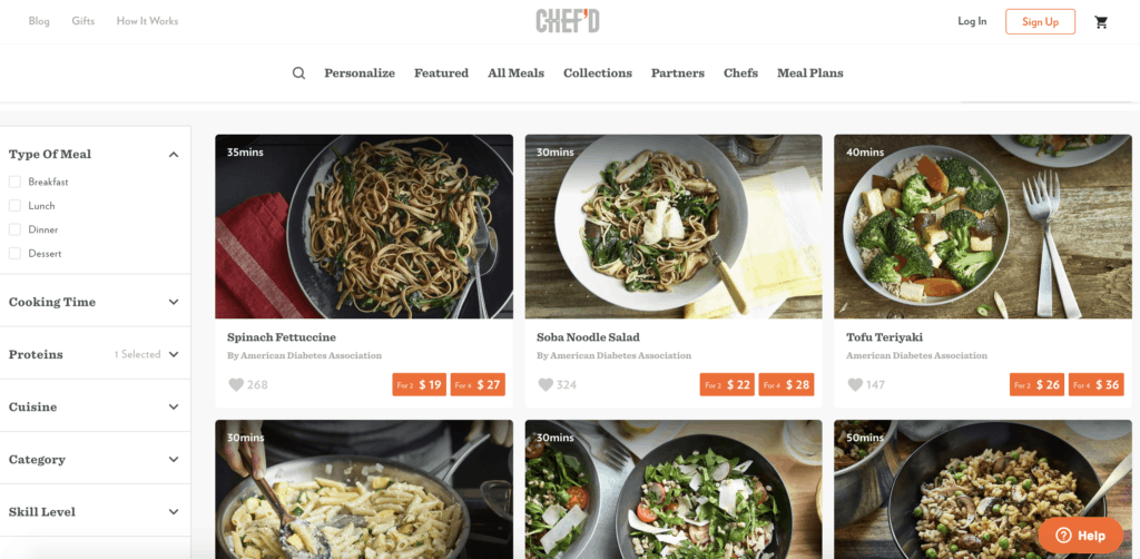 chefd meal kits