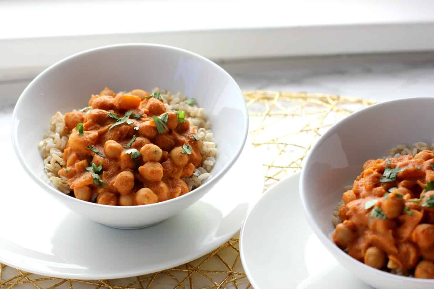 Vegan Chickpea Curry - I Heart Vegetables