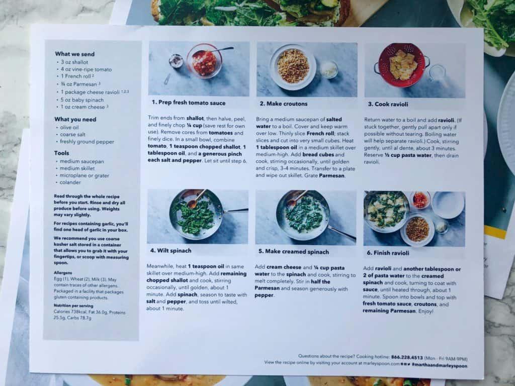 Marley Spoon Recipe