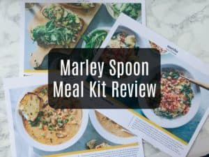 Marley Spoon Vegetarian Meal Kit Review