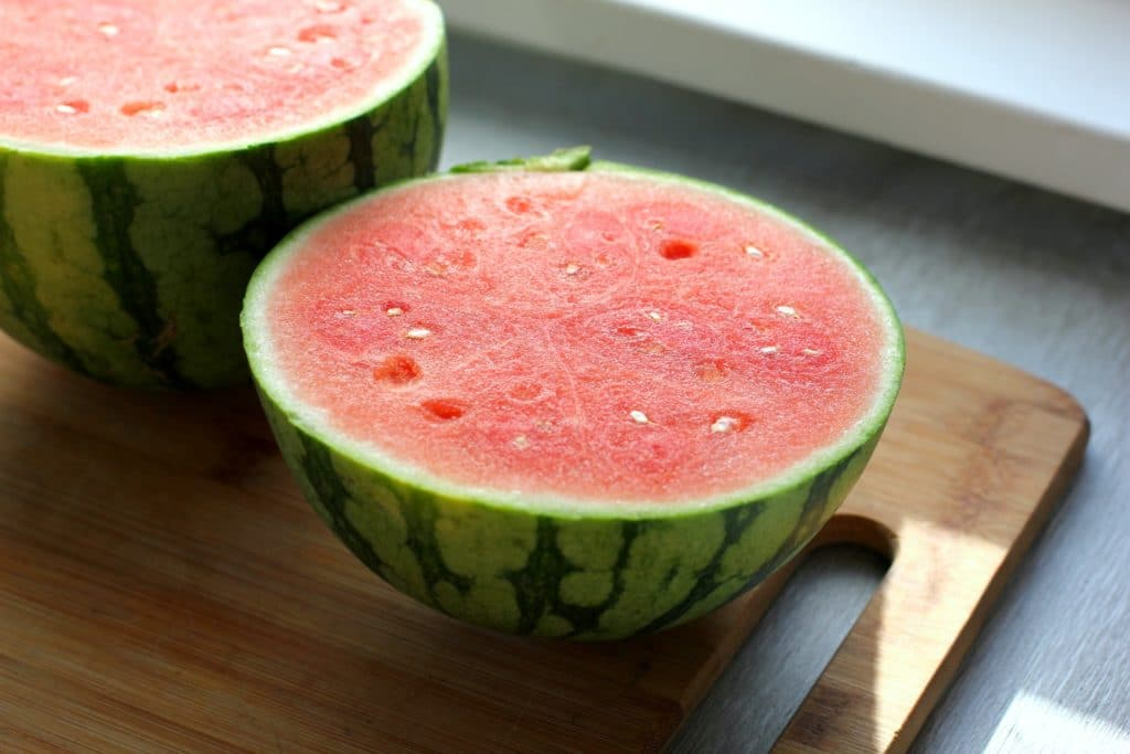 watermelon sliced open