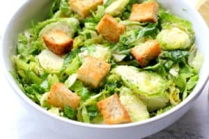 Brussels Sprout Caesar Salad