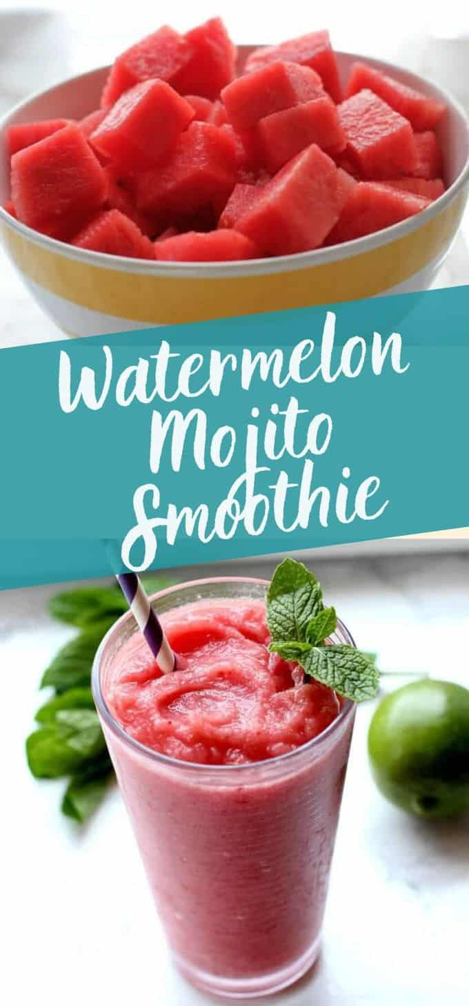 Watermelon Mojito Smoothie