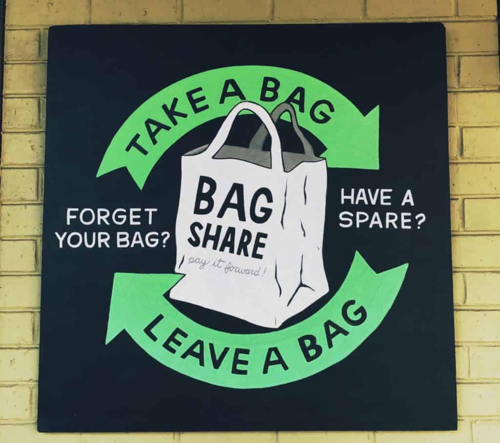 take a bag