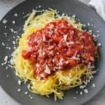 Spaghetti Squash al Pomodoro