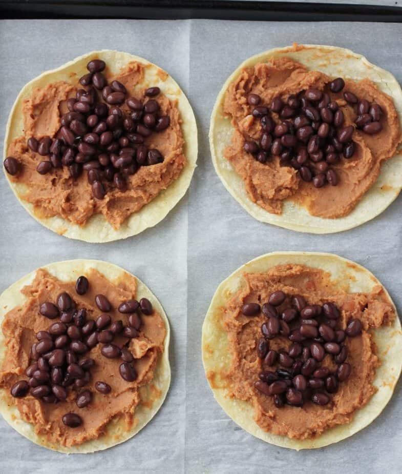 tostadas baking