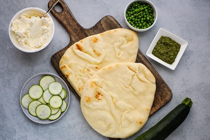 naan pizza ingredients