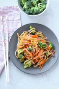 Bangkok Curry Noodle Bowls [Vegan & Gluten Free]