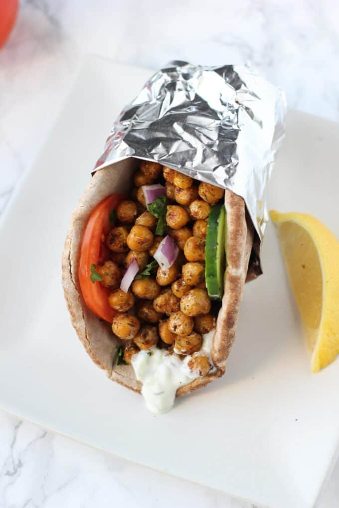 chickpea gyros