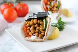 15 Minute Chickpea Gyros