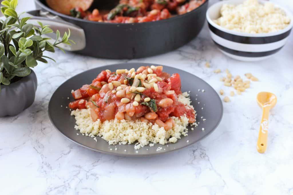 tomato and white beans