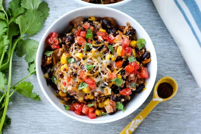 Quinoa Taco Skillet