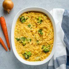 cheesy broccoli and rice