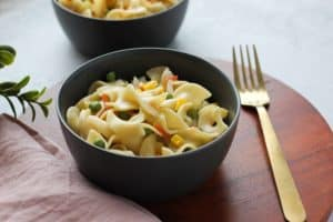 Creamy Veggies and Noodles