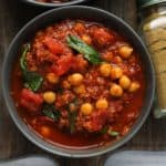 Vegan Chorizo and Chickpea Stew