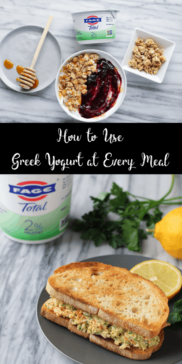 Looking for some new ways to use Greek yogurt? Try one of these easy, healthy recipes! They're packed with plenty of protein!