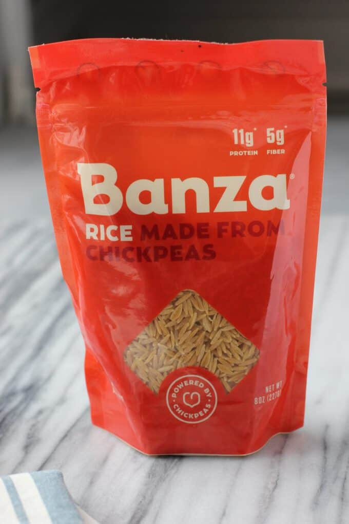 banza rice pasta