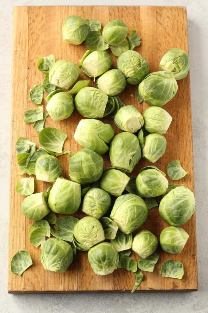 Shaved Brussles Sprouts