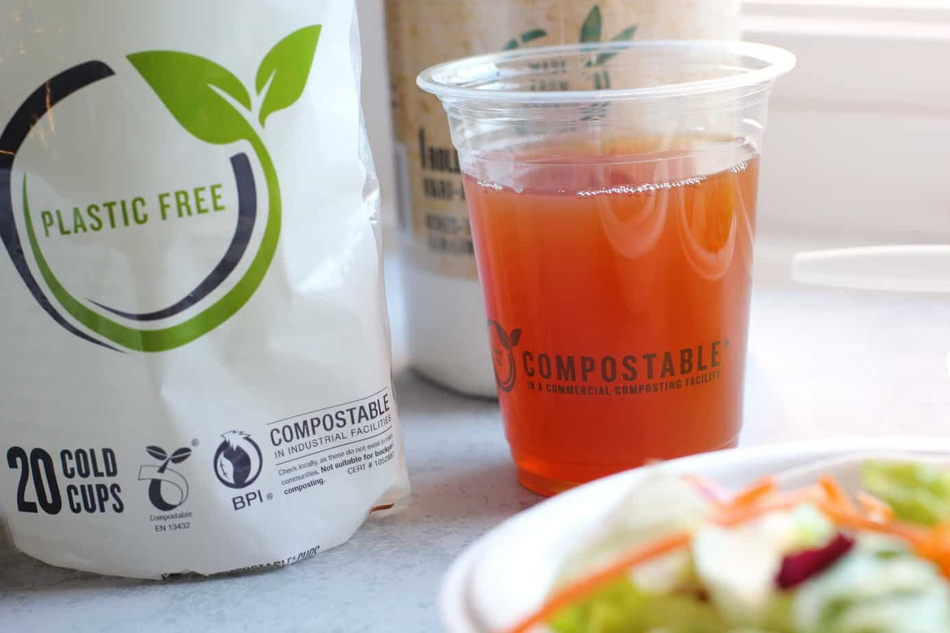compostable drink