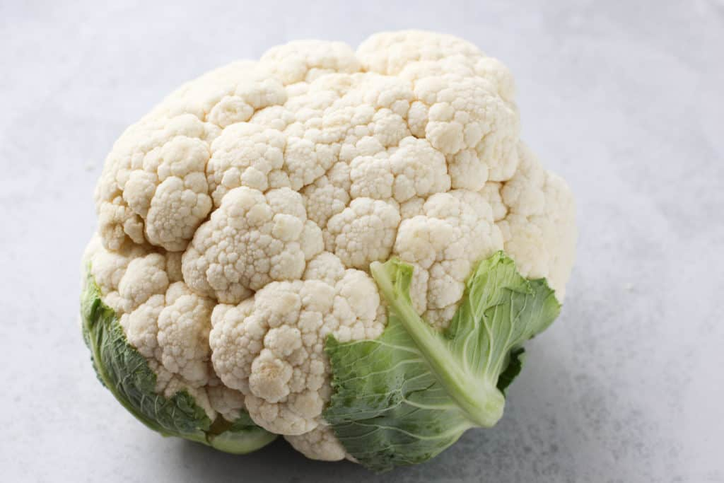 A head of Cauliflower