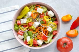 Easy Chopped Italian Salad