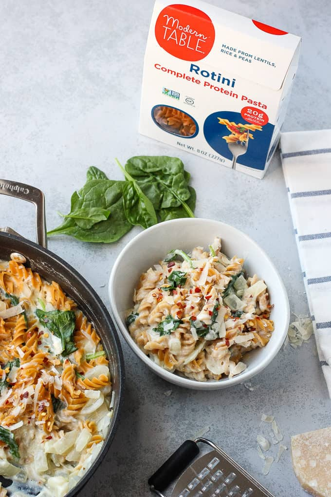 one pot pasta with ricotta