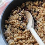 Stovetop Blueberry Crisp