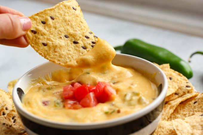 vegan queso