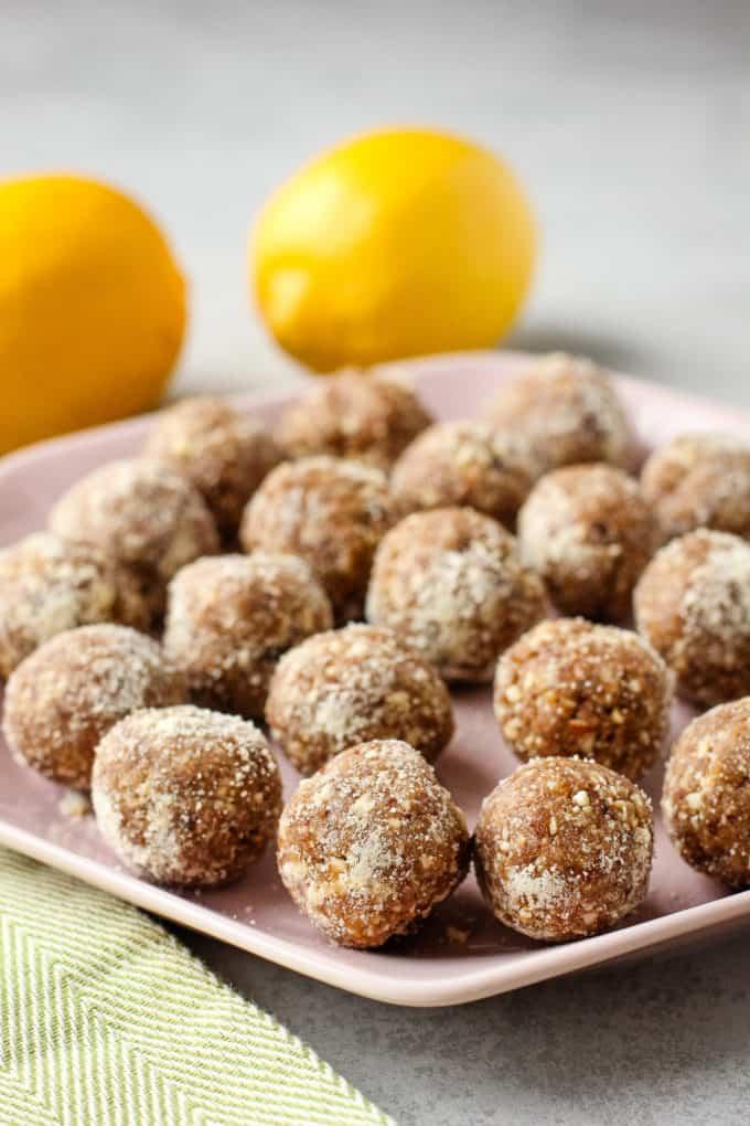 lemon pie bites