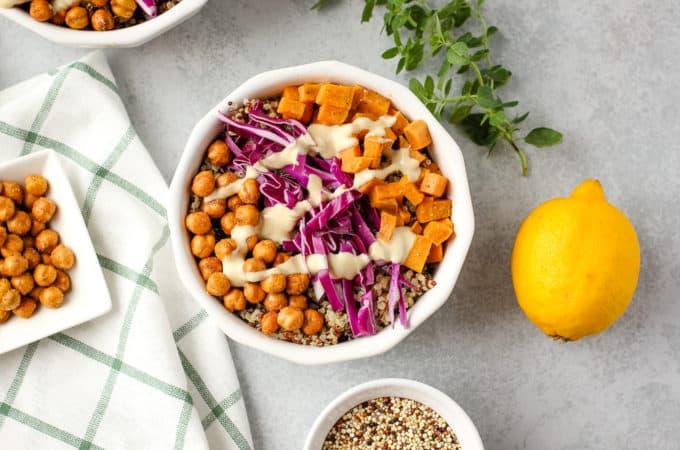 fall quinoa bowls