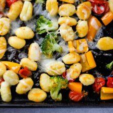 sheet pan gnocchi