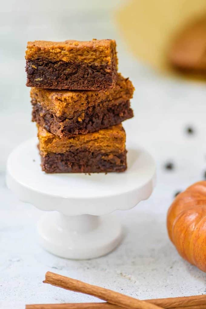 pumpkin-brownies