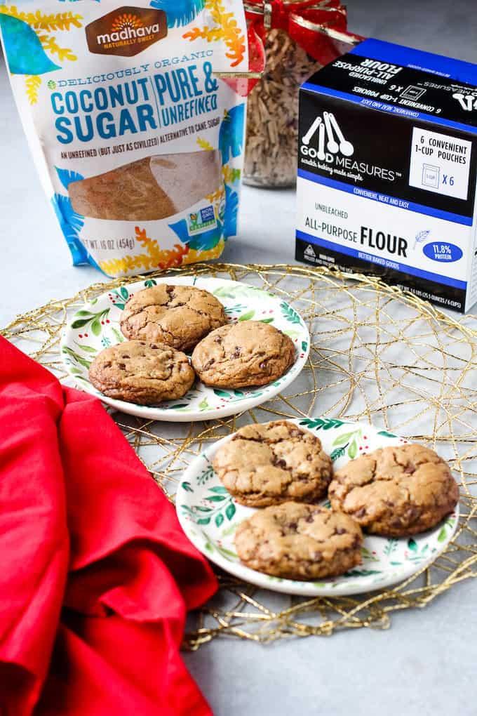 cookies with ingredients