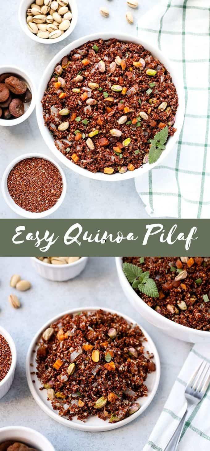 Easy Quinoa Pilaf