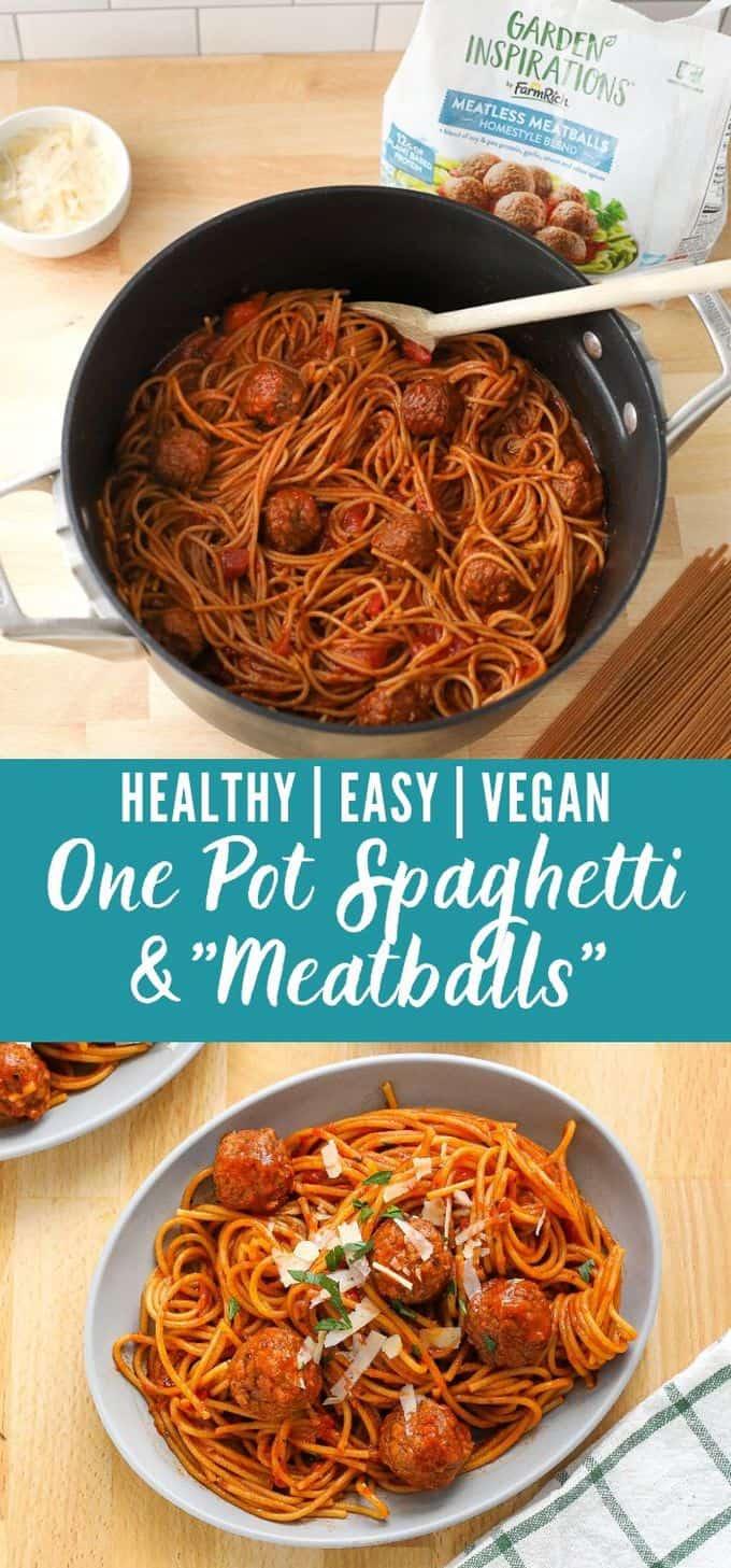One Pot Spaghetti and \