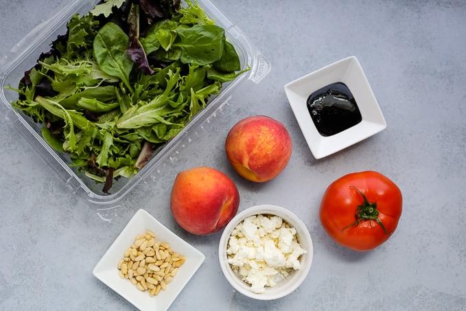 peach feta salad ingredients