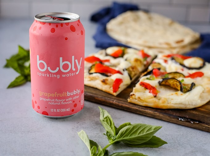 can of bubly water