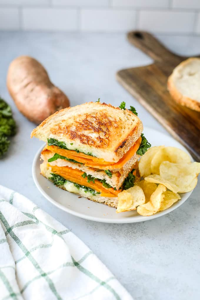 sweet potato grilled cheese