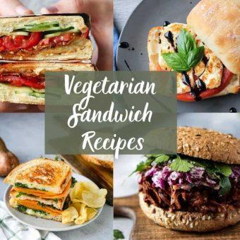 19 Delicious Vegetarian Sandwich Recipes