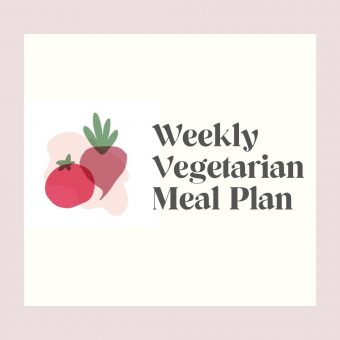 Vegetarian Meal Plan 10/3