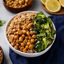 farro grain bowl