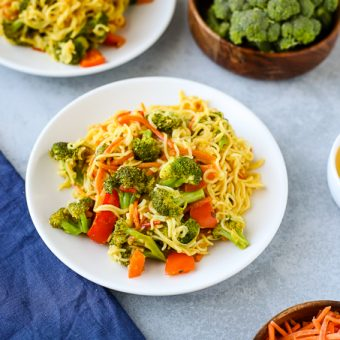 15 Minute Yellow Curry Noodles