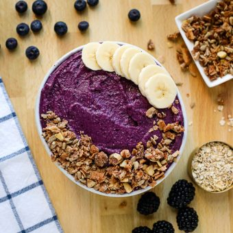 Blueberry Pie Smoothie