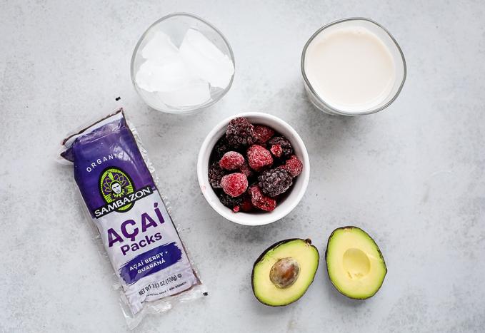 acai bowl ingredients