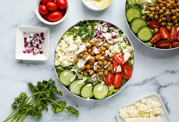 chickpea bowls