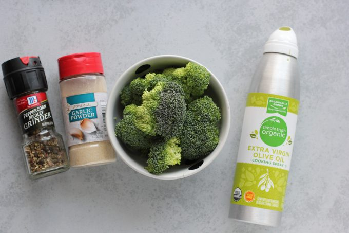 broccoli with spices and olive oil
