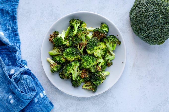 air fried broccoli