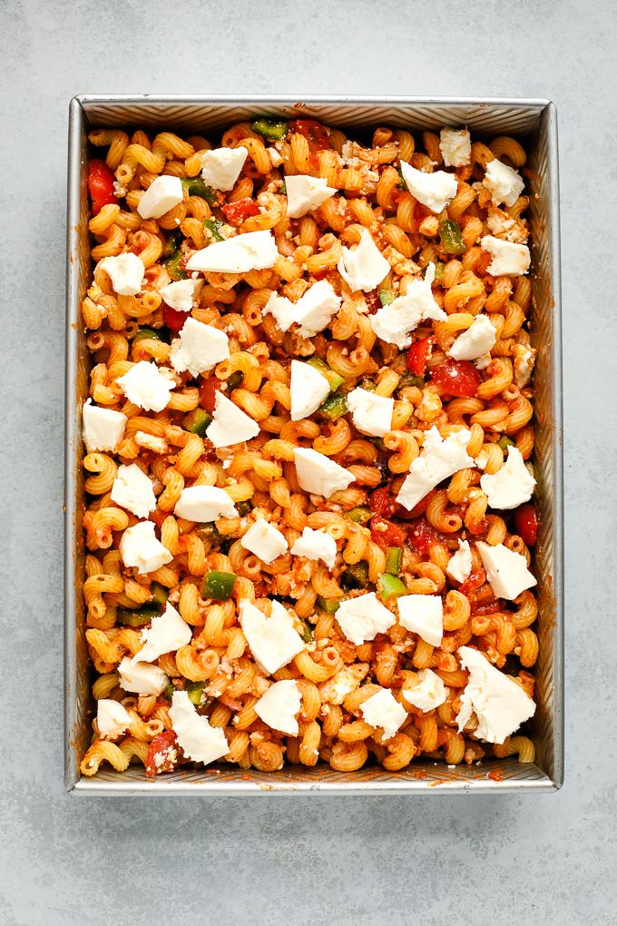 Greek pasta bake